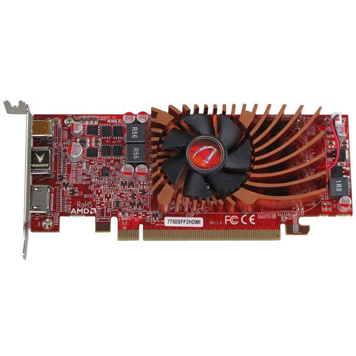 Radeon HD 7750 1GB DDR3 Graphic Card - PCI Express 3.0 x16 - Low-profile - Single Slot Space Required