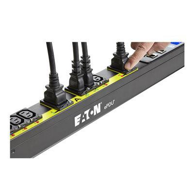 Eaton EMA107-10 ePDU G3 Managed 38U-A IN:L6-30P 24A 1P OUT: 20XC13:4XC19 - Managed
