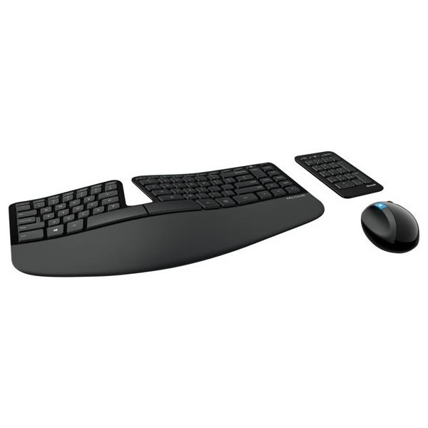 Microsoft L5V-00001 Sculpt Ergonomic Desktop Keyboard and