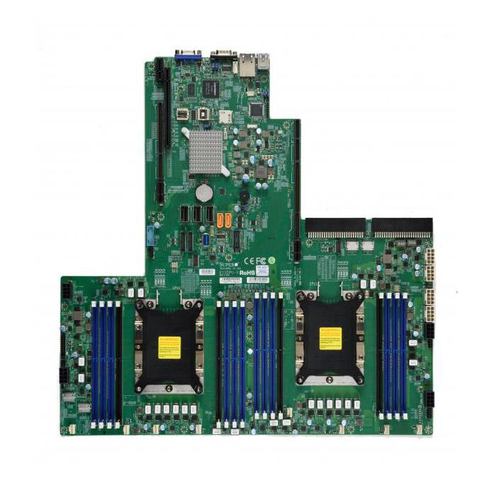 Supermicro X11DPU Motherboard for 2x Xeon Scalable Process