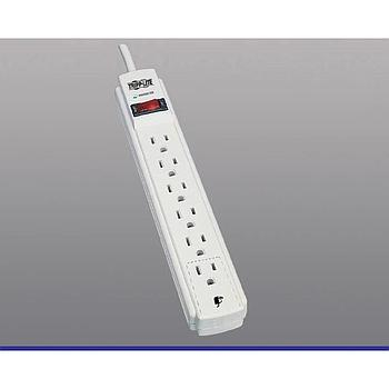 Tripp Lite TLP606 SURGE SUPPRESSOR PROTECT IT! W/ 6