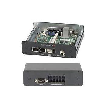 Supermicro SYS-E100-8Q E100 Compact Box PC Barebone Single Intel Quark Processor SoC X1021 Up to 512MB